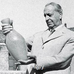 Barovier & Toso Mezzafiligrana Vintage Vase, Murano, Italy, Mid-Century Modern