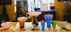 DAUM PATE DE VERRE CRYSTAL ROSES 7.50 ORNAMENTAL BOWL # 02571 Perfection