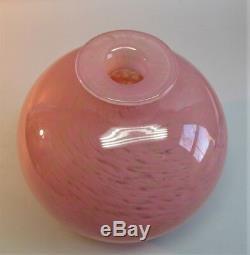 Gorgeous & Large Signed SCHNEIDER FRENCH ART DECO Glass Vase c. 1925 antique