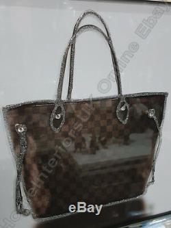 Heels, perfume bottles, handbags pictures with liquid art, crystals & mirror frames