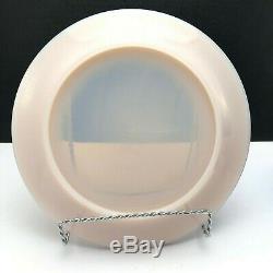 Martha Stewart By Mail Shell Pink Jadeite Fenton Glass Dinnerware 10 Piece Set