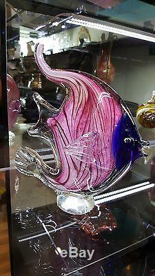 Murano, Cristalleria Stile D'arte, Pink Fish