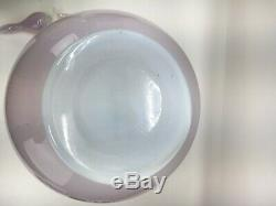 Murano Fratelli Toso Archimede Seguso Bottle Vase Opaline Opalescent Pink Glass