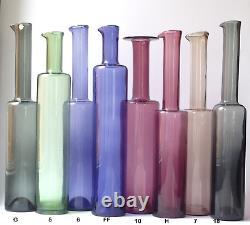 Nanny Still Bottle Vase Mid Century Riihimaen Lasi Oy Nanny Still Finland! (H)
