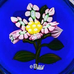 Peter McDougall Upright Pink Millefiori Cane Flower