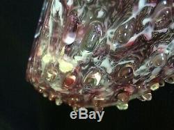 Rare 1930s ERCOLE BAROVIER Italian Murano ROSTRATO Art Glass BOWL