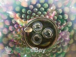 Rare FENTON ART GLASS HOBNAIL EPERGNE STUNNING
