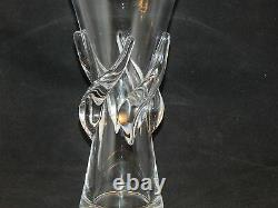 Steuben Glass Large Rose Vase