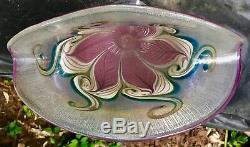 VANDERMARK Art Glass Signed 1985 Jack in the Pulpit