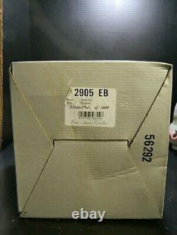Vintage HP Signed Fenton Limited Edition Rosalene 3 Pc. Vanity Set #2905 EB Exc